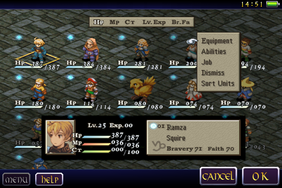 FINAL FANTASY TACTICS : WotL Screenshot 2