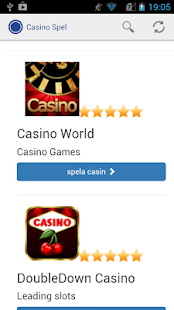 Casino spel - screenshot