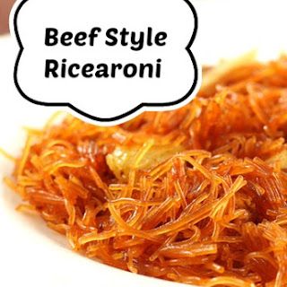 Beef Style Ricearoni