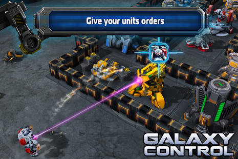 Galaxy Control: 3D strategy