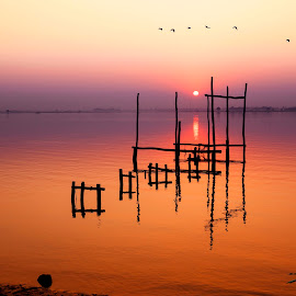 Missing my home town by Koko NaingLin - Landscapes Sunsets & Sunrises