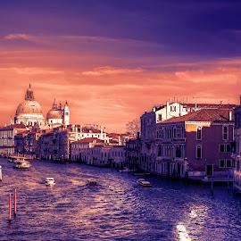 Basilica of Saint Mary of Health, Venice by Cristian Peša - City,  Street & Park  Vistas ( church, grand canal, venice, historic district, historical, basilica, sain mary of health )