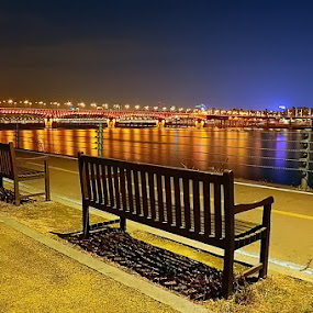 Han River by Khoirul Huda - City,  Street & Park  Vistas ( travel, cityscape, landscape )