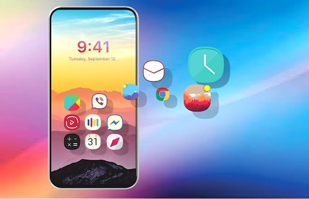 OS 11 Concept - iPhone X icon pack Screenshot Image