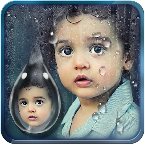 Water Drop Photo Frames