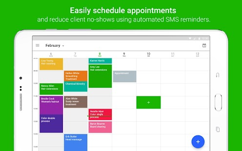 Download android app appointfix appointment book for for Plan book app