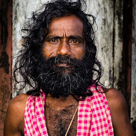 A Tantrik by Prasanta Das - People Portraits of Men ( hindu, tantrik, portrait )