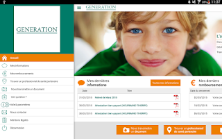 Screenshot of L'appli GENERATION