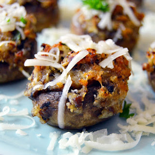 Mushrooms Stuffed Gruyere Cheese Recipes