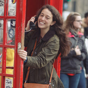 London street portrait  by Balazs Romsics - People Street & Candids
