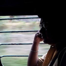 পছন্দের ছবি । চয়নের ক্যামেরায় তোলা । ১০/০৬/১৫ বিকেল , কোপাই -এ তখন । by অমিতাভ দাস - People Portraits of Men