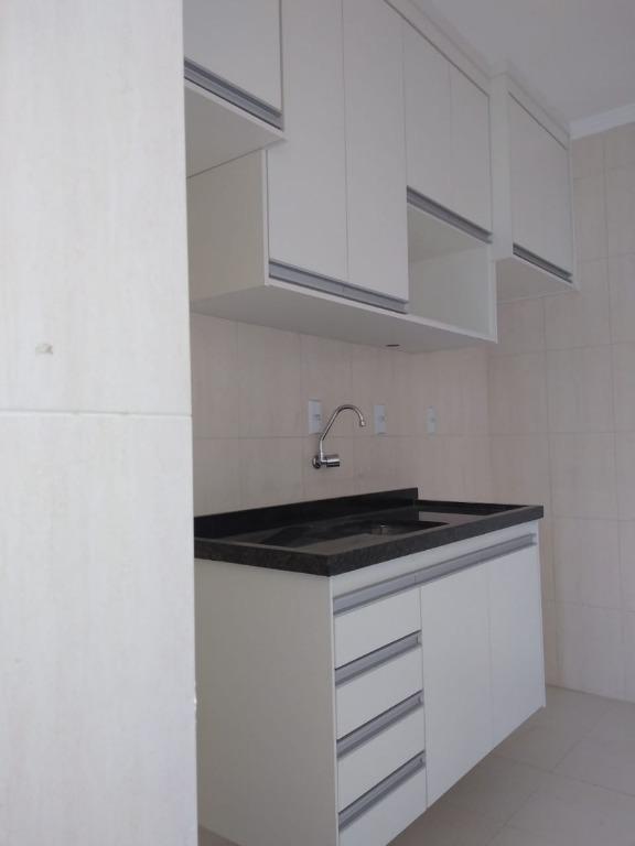 Apartamento com 2 dormitórios para alugar, 51 m² - Campestre - Santo André/SP