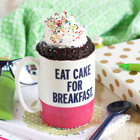 The Very Best Chocolate Mug Cake