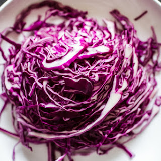 Quick Pickled Cabbage