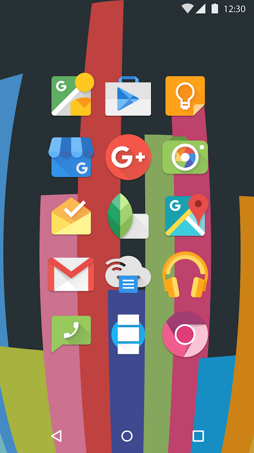 Mate UI - Material Icon Pack Screenshot 3