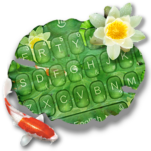 Cute Koi Fish Keyboard Theme For PC