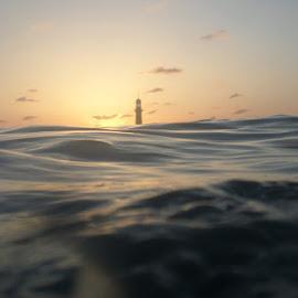 Montazah Sunset by Usama Taha - Landscapes Sunsets & Sunrises ( sunset, sea, egypt, alexandria )