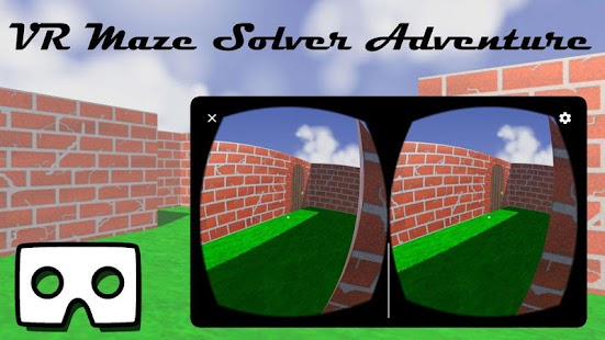VR Maze Solver Adventure screenshot for Android