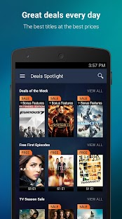 VUDU Movies & TV- screenshot thumbnail
