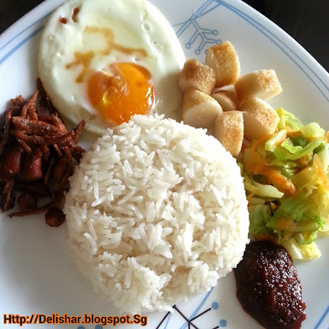 Nasi Lemak – Low Fat Version (Fragrant Coconut Milk Rice)