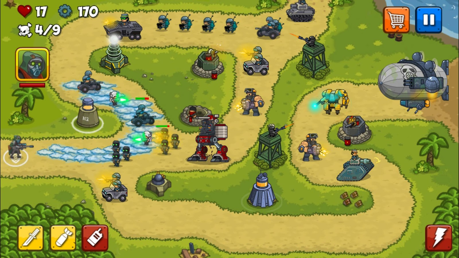 Combat Tower Defense Screenshot 4