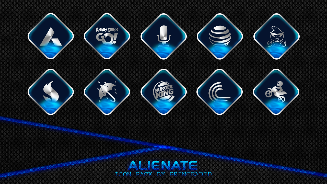 Alienate Icon Pack Screenshot 2