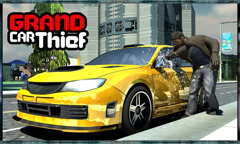 Grand Car Chase Auto Theft 3D Screenshot 4