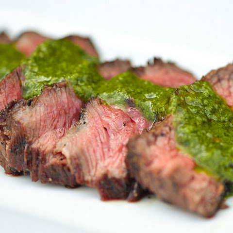 Grilled Short Ribs with Chimichurri Sauce