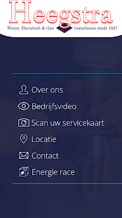 Heegstra Installateurs - screenshot