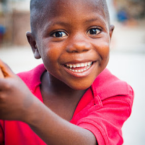 Happiest Kid In Haiti III by Joe Boyle - Babies & Children Children Candids ( love, jeremie, child, happy, joy, haiti, smile, kid )