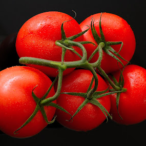 Tomatoes by Sanjeev Kumar - Food & Drink Fruits & Vegetables (  )