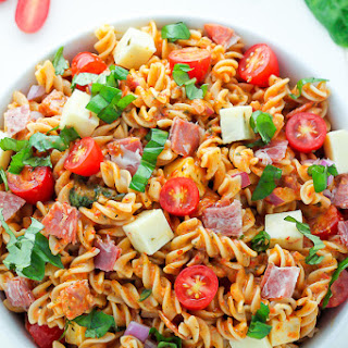 Pasta Salad With Salami And Italian Dressing Recipes