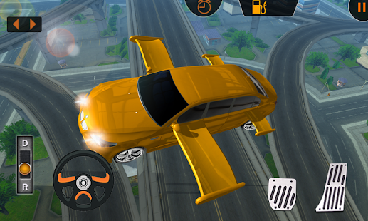Flying Limo Simulator 3D - screenshot