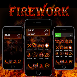 Fire Work Theme
