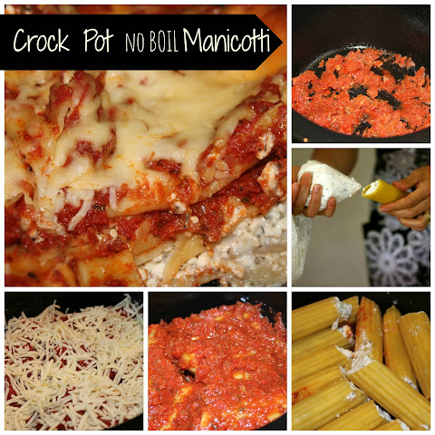 Crock pot No Boil Manicotti