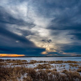 Squaw Creek, MO by Joseph Martinez - Landscapes Cloud Formations ( sony, cloud formations, clouds, sun set, sunset, squaw creek, sundown, cloudscape, landscape photography, cloud formation, landscapes, landscape )