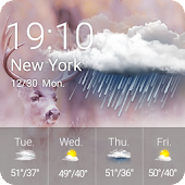 App Weather && Clock APK for Kindle