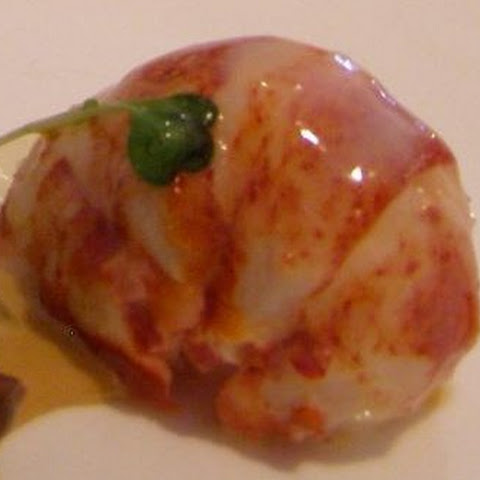 Butter-Poached Lobster Tails with Caviar Mousse
