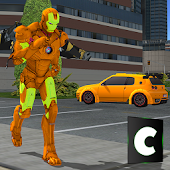 Game JetPack Iron Hero: City Legend APK for Kindle