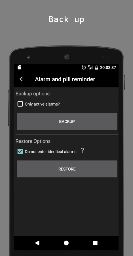 Alarm and pill reminder Screenshot 6