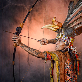 Archer Dayak by Doeh Namaku - People Professional People