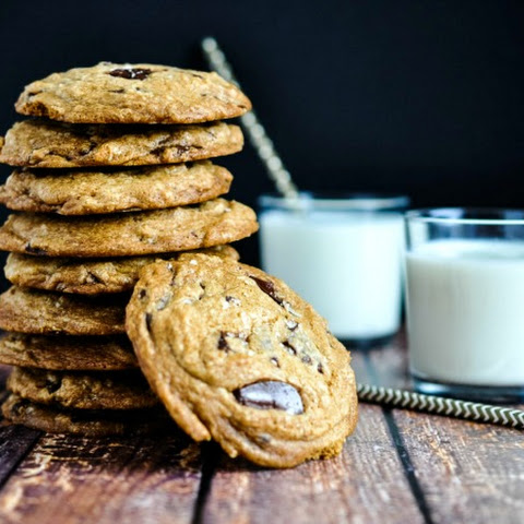 Browned Butter Mascarpone Chocolate Chunk Cookies