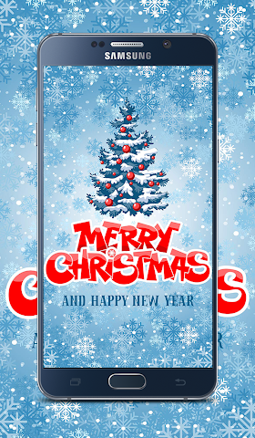 android Christmas New year Wallpapers Screenshot 7
