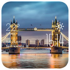 Tower Bridge weather widget