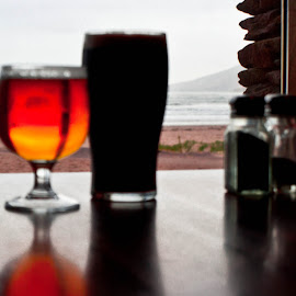 by Guy Henderson - Food & Drink Alcohol & Drinks ( ireland, guinness, inch, kerry, beach )