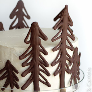 Chocolate Raspberry Forest Cake {Birthday}