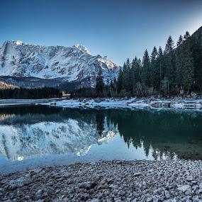 by Aleš Krivec - Landscapes Mountains & Hills ( mountain, winter, range )