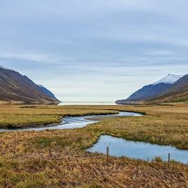 Iceland Fjourd by Kara Langlois - Novices Only Landscapes