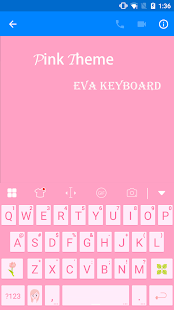 Pink Keyboard -Emoji Emoticons - screenshot