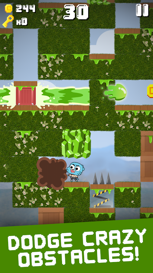 Super Slime Blitz - Gumball Screenshot 1